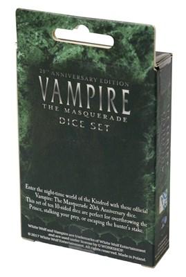 Игральные кости «Вампиры: Маскарад. Классические правила» - фото 4815