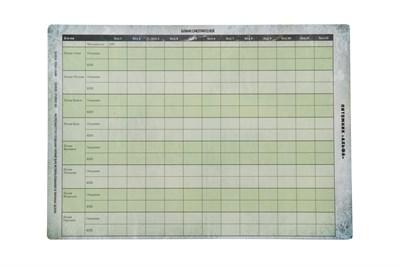 Полный набор бланков для игры Мутанты. Питомник «Альфа» - фото 5136