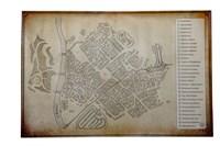 Карта Янтарного города
